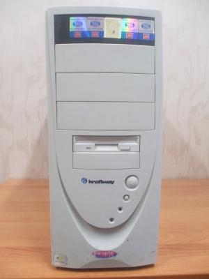 Мат плата Giga-Byte GA8iG1000MK ATX S478 процессор P4 2266MHz S478 оперативная память DDR 512Mb PC3200 корпус...