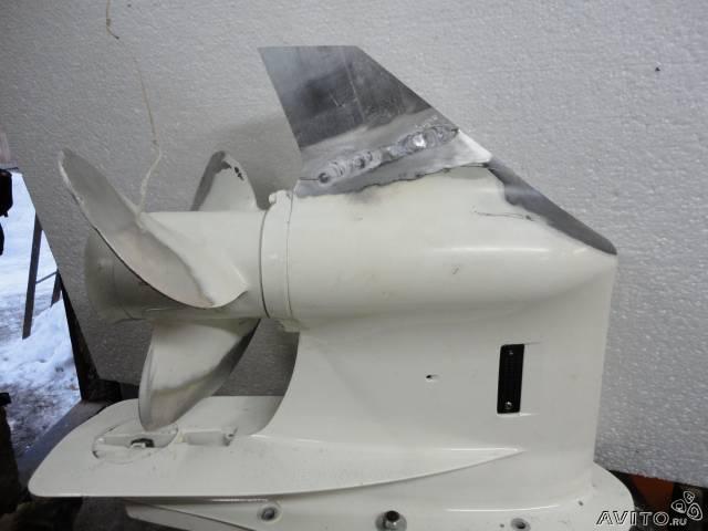 биение винта на лодочном моторе