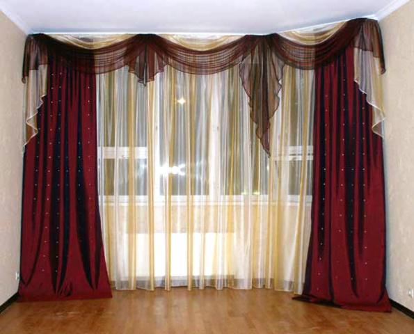 Пошив шторы для кухни своими руками выкройки