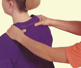 Как сделать массаж плеча