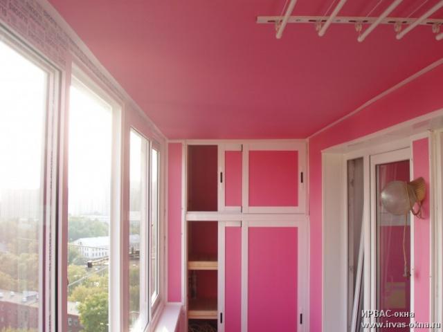 Как обшить балкон пвх панелями внутри