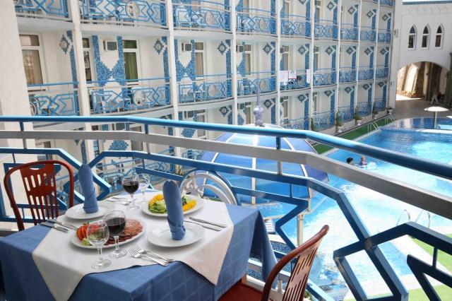 1001 ночь отель в крыму видео